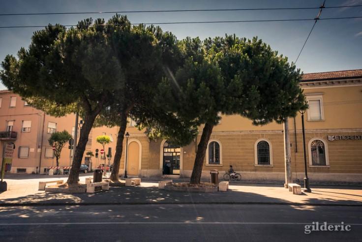 Vers la vieille ville de Rimini