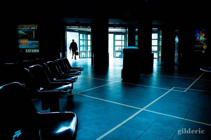 La gare de Bruges (dans le hall)