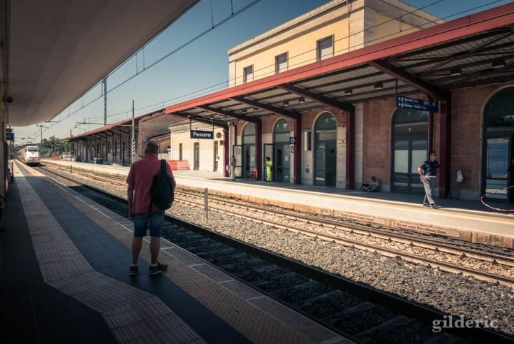 La gare de Pesaro