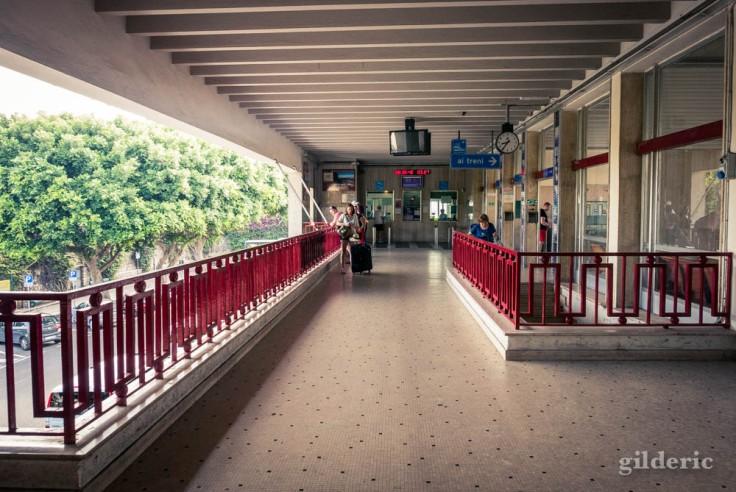 Gare de Sorrente (Italie)