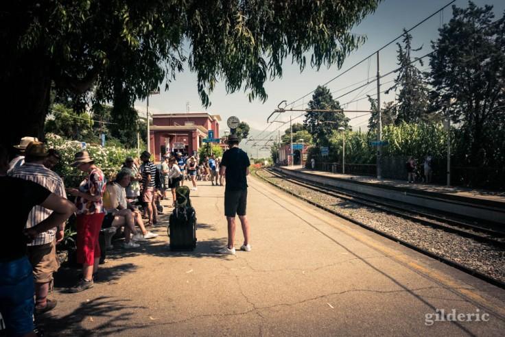Gare de Pompei Scavi