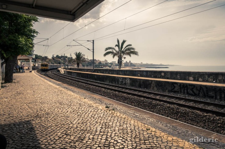 "La ""gare"" d'Estoril (Portugal)"