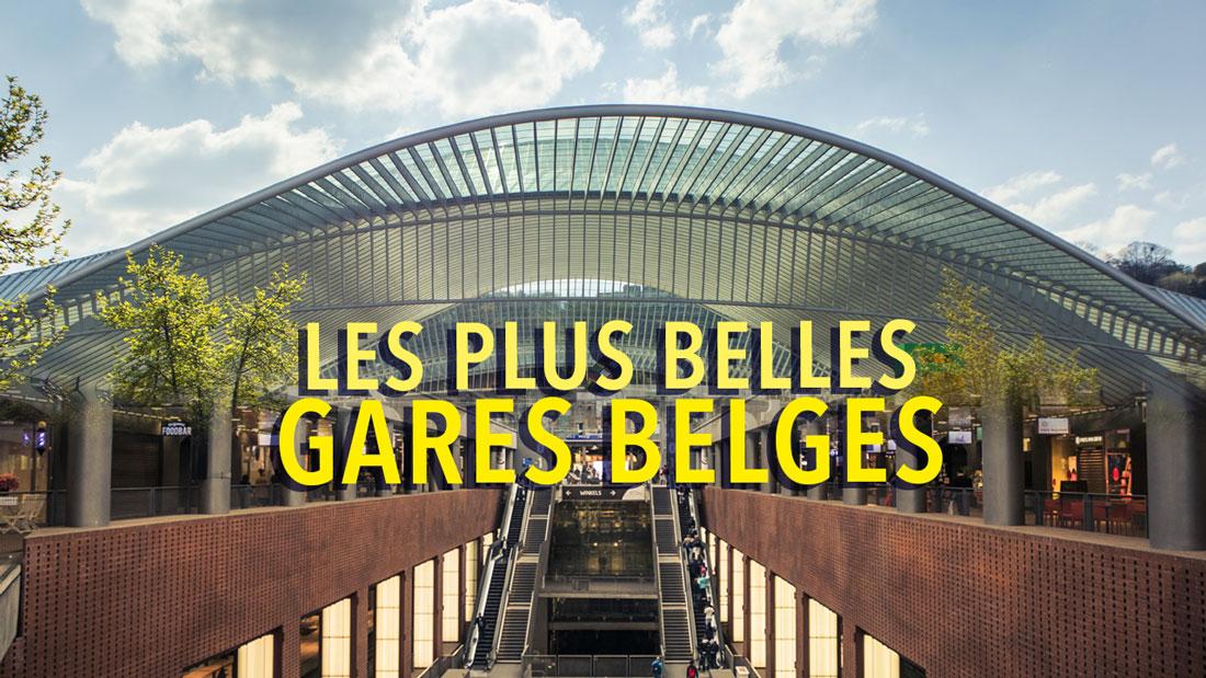 Les plus belles gares belges