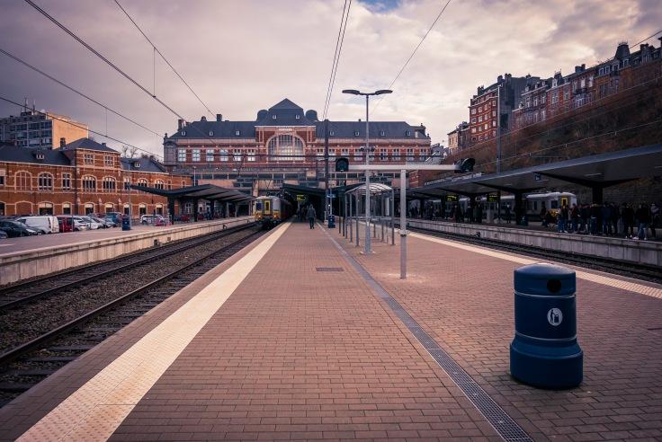 Gare de Verviers (vue des quais)