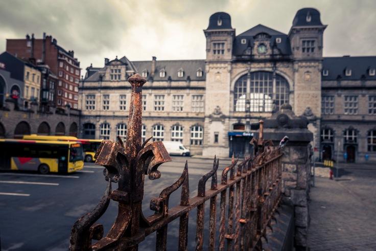 Façade de la gare de Verviers