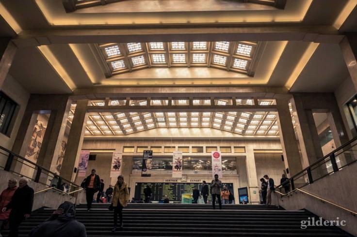 Grand hall de la Gare de Bruxelles-Central