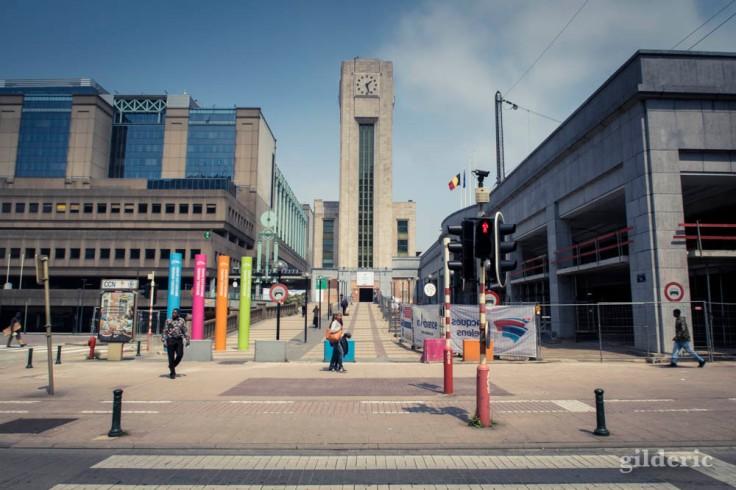 Gare de Bruxelles-Nord (extérieur)