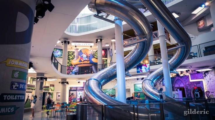 Comics Station : un parc d'attraction sur la BD dans la gare d'Anvers