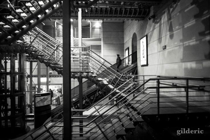 Intérieur de la gare de Namur
