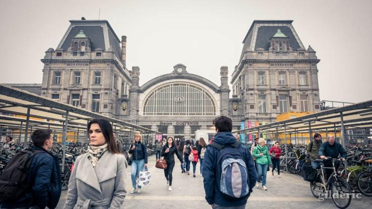 Façade de la Gare d'Ostende (façade)