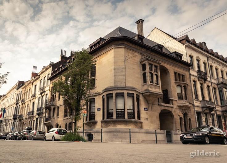 Hôtel Otlet - Maison Art Nouveau (quartier Louise à Bruxelles)