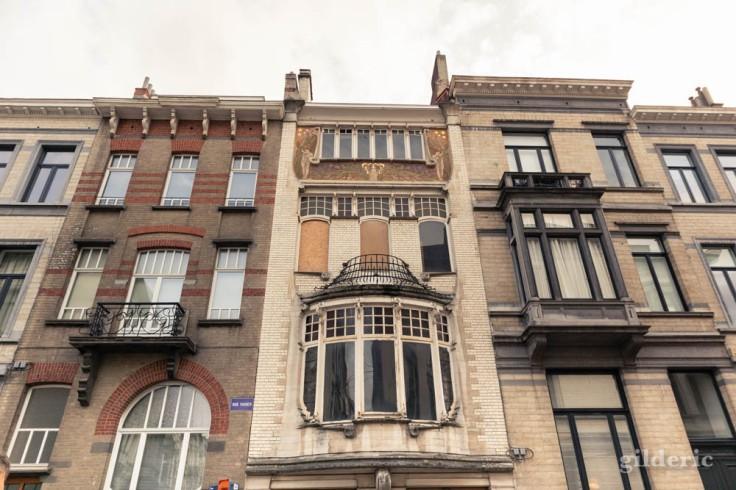 Maison Beukamn - Maison Art Nouveau (quartier Louise) à Bruxelles
