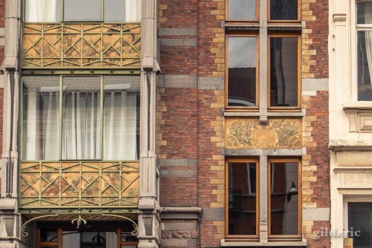 Maison Hankar (détail) à Bruxelles