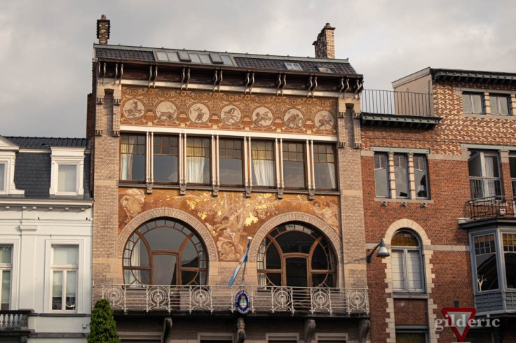 hôtel Albert Ciamberlani (architecte Paul Hankar) à Bruxelles
