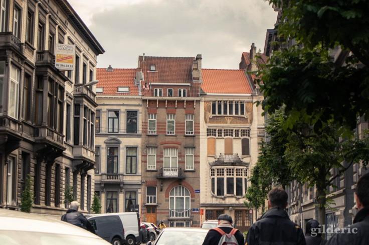 Immeubles Art Nouveau à Bruxelles (quartier Louise)