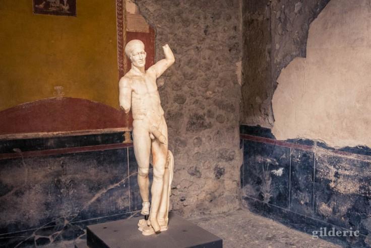 Statue de la Casa dei Vettii à Pompéi