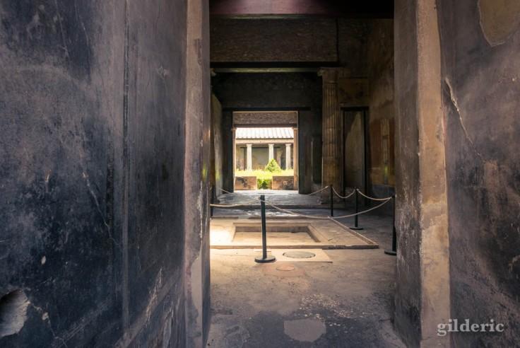 Casa del Menandro (entrée) à Pompéi