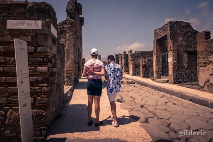 Visiter les ruines de Pompéi avec style