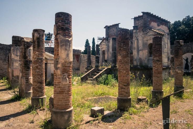 Temple d'Isis à Pompéi