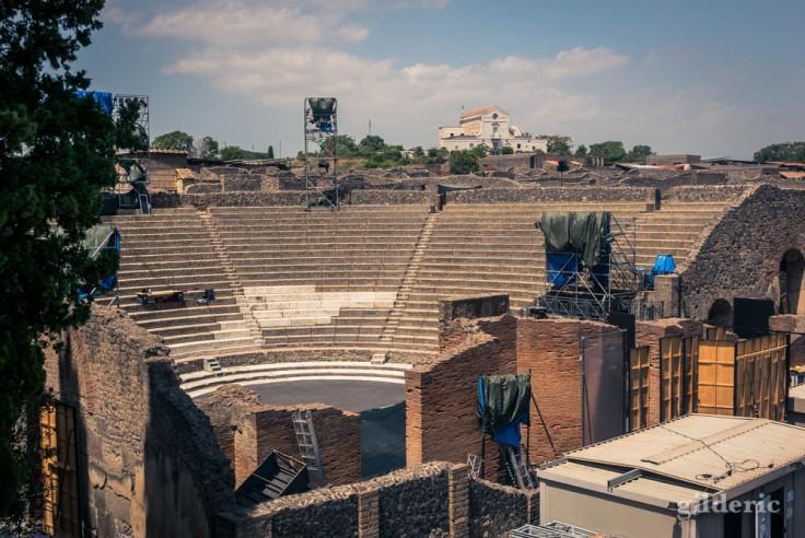 Grande Teatro à Pompéi