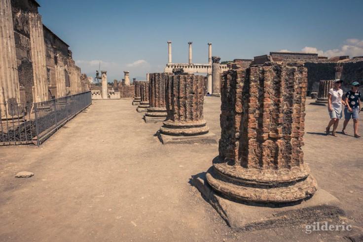 Colonnes de la Basilique (Pompéi)