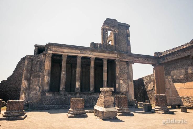 Ruines de la Basilique de Pompéi
