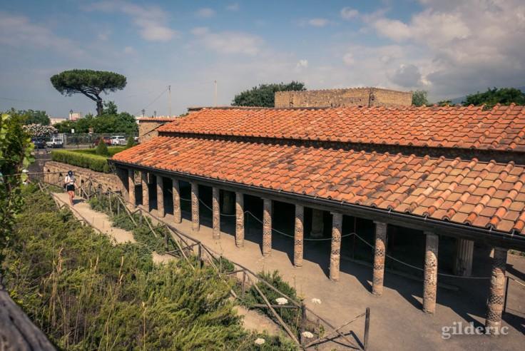 La Villa des Mystères à Pompéi (extérieur)