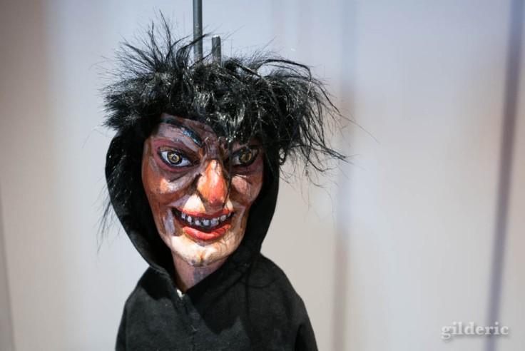 Sorcière (Macrale) à l'expo Super Marionnettes