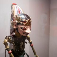 Marionnette indonésienne (expo Super Marionnettes)