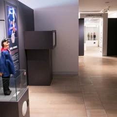 Un des niveaux de l'expo Super Marionnettes