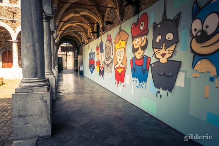 """Entrée de l'expo """"Super Marionnettes"""""""