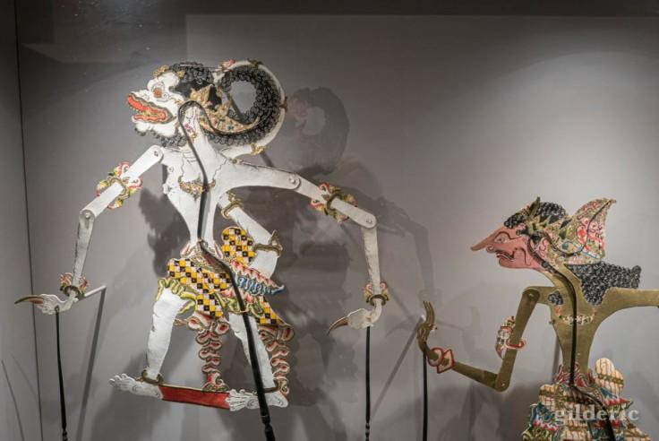 Marionnettes indonésiennes à l'expo Super Marionnettes