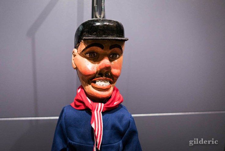 """Tchantchès à l'expo """"Super Marionnettes"""""""