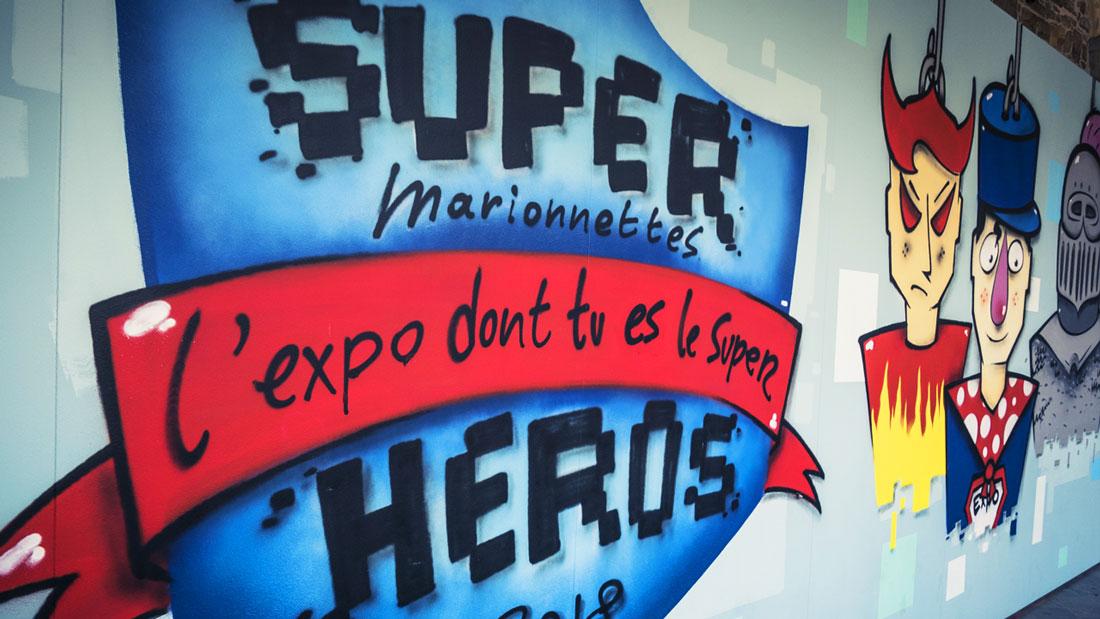Super Marionnettes : l'expo dont tu es le super héros (vidéo + photos)