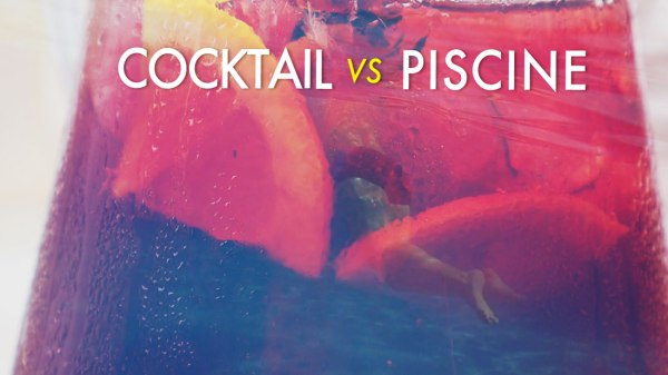Comment se rafraîchir : cocktail ou piscine ? (vidéo expérimentale)