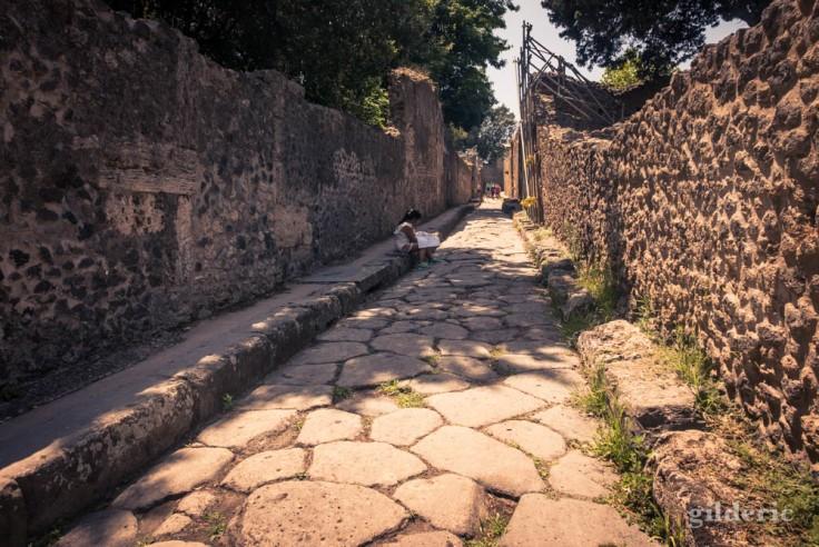 Les enfants à Pompéi