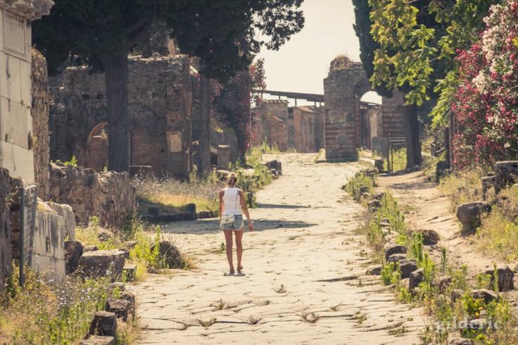 Street Photography à Pompéi