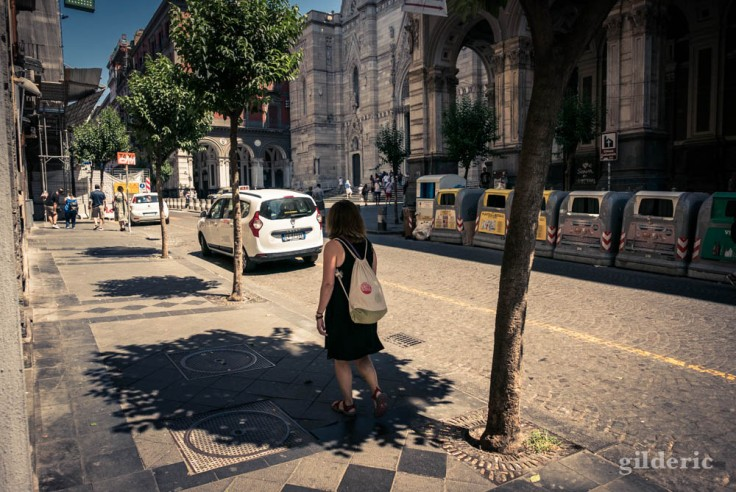 Un peu d'ombre, à Naples