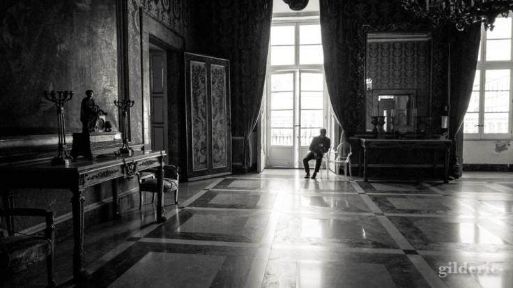 Une des salles du Palais royal de Naples