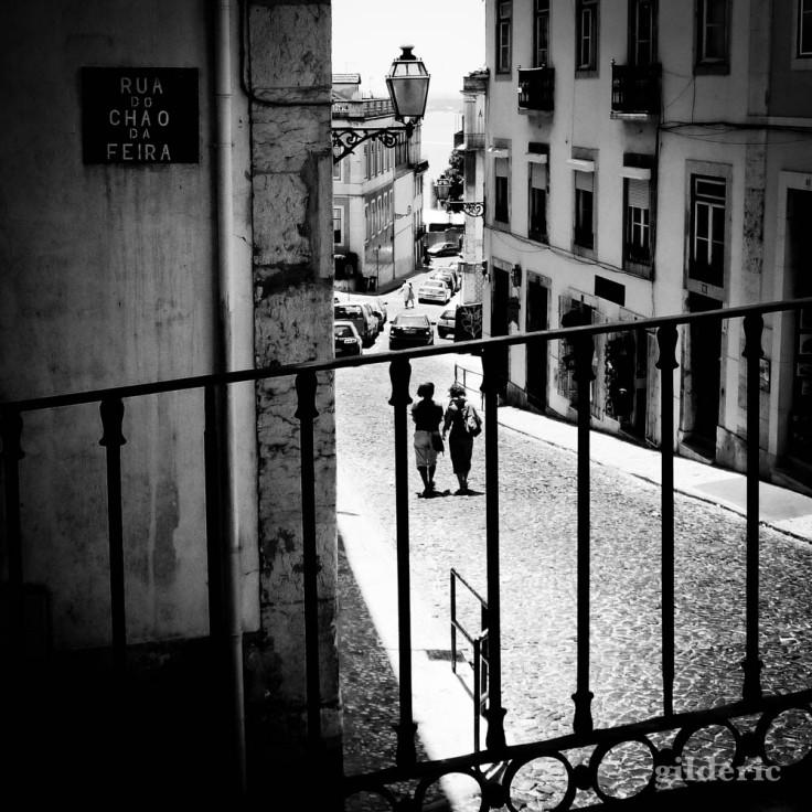 Street photography à Lisbonne (noir et blanc)
