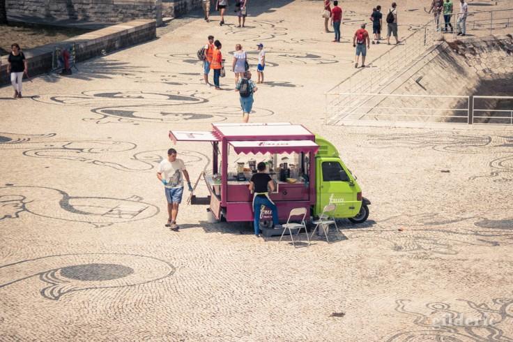 Street photography à Lisbonne : Food truck