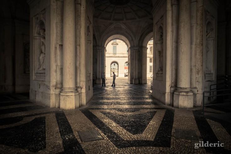 Street photography à Lisbonne : au palais royal d'Ajuda
