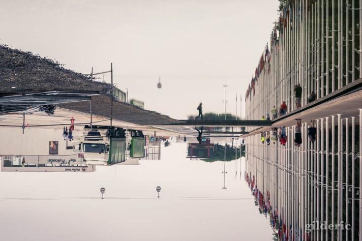 Street photography à Lisbonne : étrange reflet