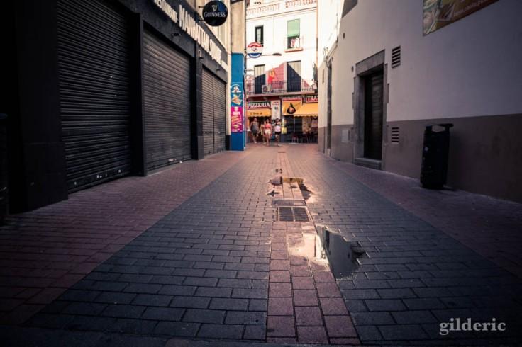 Lloret de Mar : rue calme et propre