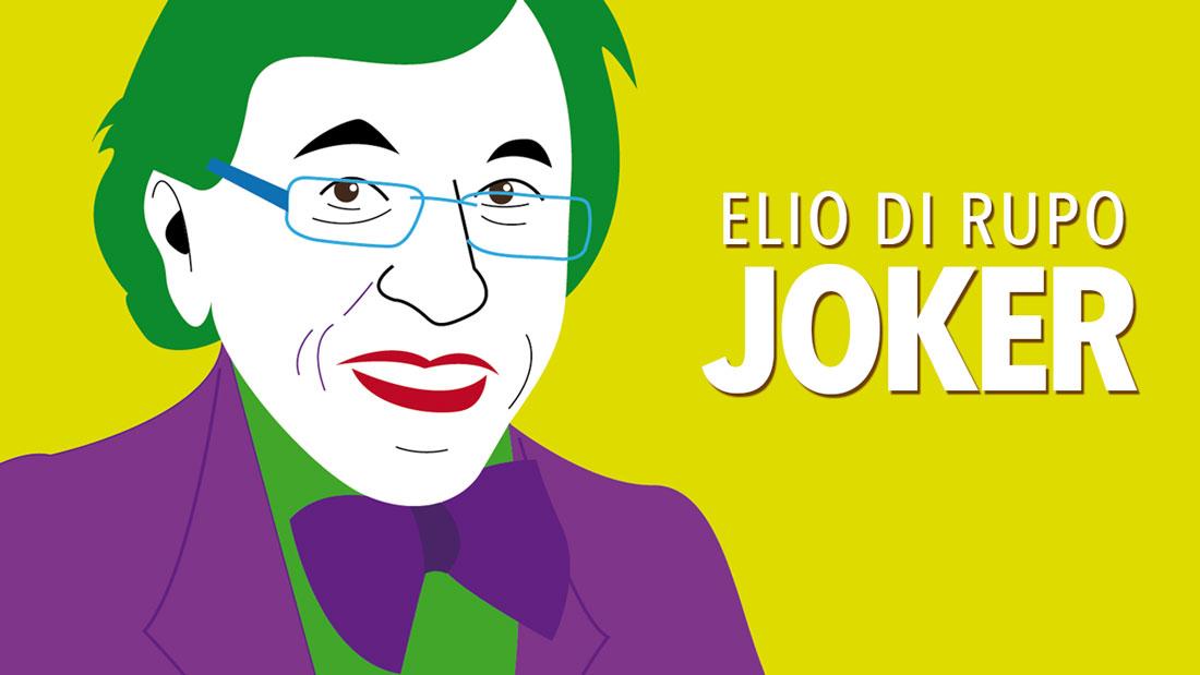 Caricature : Elio di Rupo en Joker