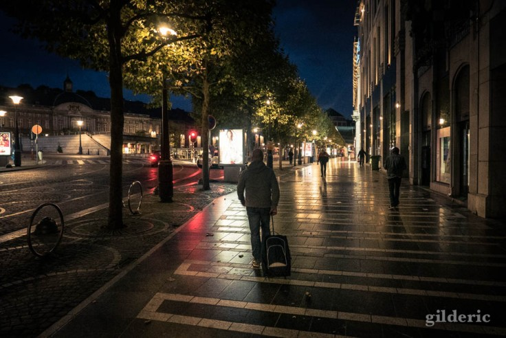 Le voyageur urbain (Liège, Belgique)