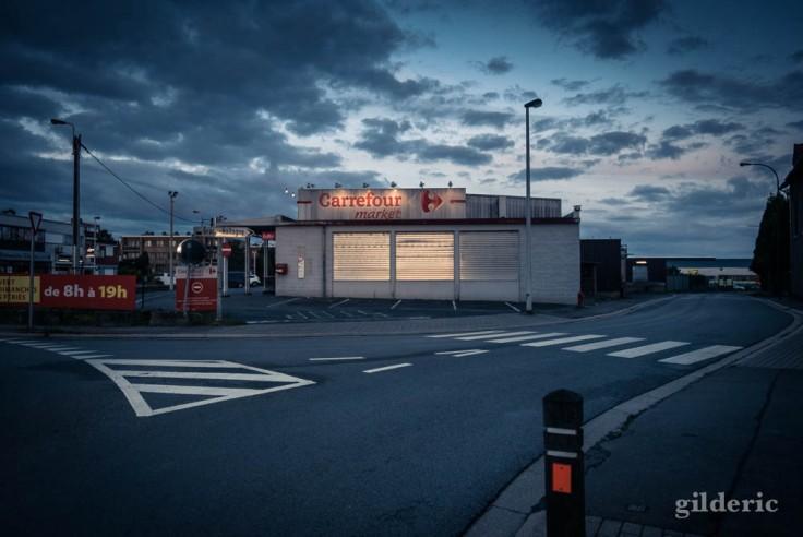 Le supermarché (Grâce-Hollogne, Liège)