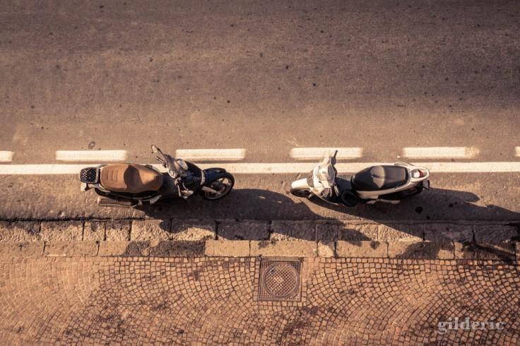 Street photography à Sorrente : Roméo et Juliette