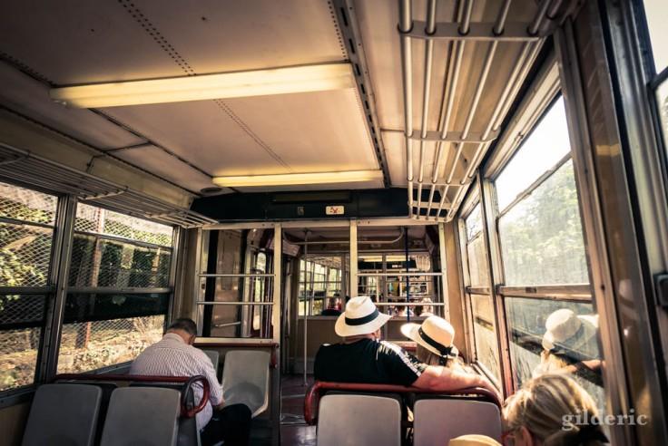 Street photography à Sorrente : en train