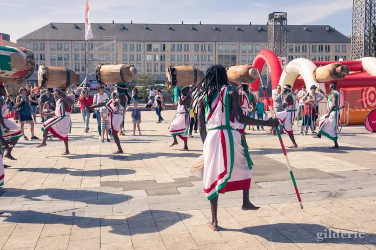 Ikiyago Legacy Tambours du Burundi, Place Saint-Lambert (Liège)